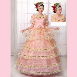 46bfebf34c2c9 貴族 衣装 小さいサイズ 大きいサイズ 現代劇演出 ヨーロッパ風 結婚式 演出服 パーティードレス 王族服 ジュリエット  パニエ追加可dd248zezex0