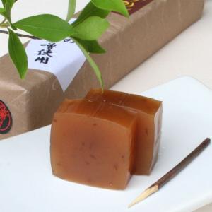クセになる、味と香り!井筒屋の本格手造り黒大豆味噌を羊羹にした和の逸品「黒大豆味噌ようかん」|itutuya