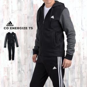 アディダス adidas スウェット 上下 パーカー ジョガーパンツ メンズ CO ENERGIZE...