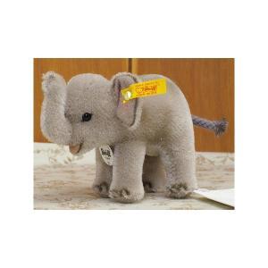 シュタイフアニマルシリーズ ぱおーん♪と鼻を高々と上げた象さんです 足のつめなどはエアーブラシでペイ...