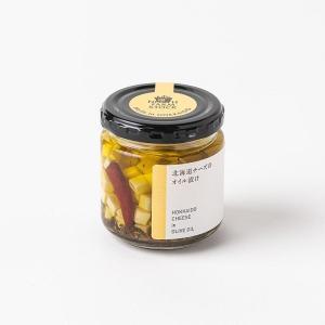北海道チーズのオイル漬け|iwafo