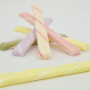 京都の手作り千歳飴 黄色 レモン味 透明袋 個包装 七五三 iwaiseika