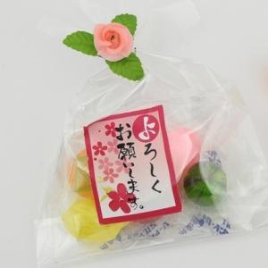 引越し 挨拶プチギフト プチふるーつ(ご挨拶・よろしくお願いします)50個入り まとめ買い|iwaiseika