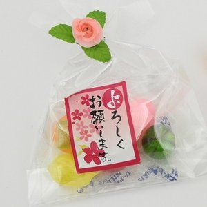 引越し 挨拶プチギフト プチふるーつ(ご挨拶・よろしくお願いします)200個入り まとめ買い iwaiseika