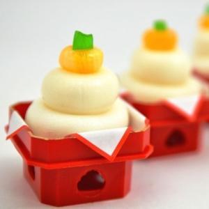 正月 迎春 ミニ鏡餅 飴 4ケース(200個入り)プチギフト ノベルティ 業務用|iwaiseika