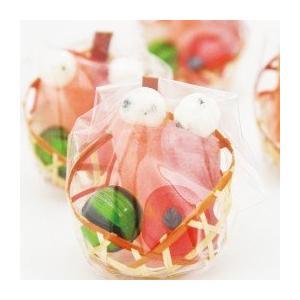 ひなまつりプチギフト☆ミニひな籠 2ケース(100個)|iwaiseika