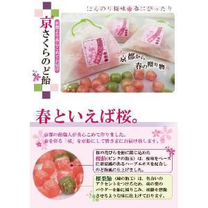 桜スイーツ 京さくらのど飴|iwaiseika|02