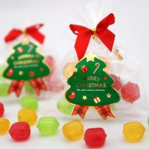 クリスマス ブライダル プチギフト まとめ買い クリスマスキャンディー 1ケース(50個)|iwaiseika