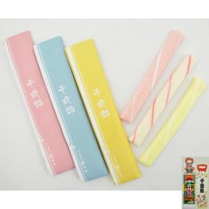 千歳飴 (3本入:赤・白・紫(黄)/のし袋+手提袋)|iwaiseika