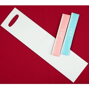 千歳飴 100セット - 2本入:赤・白/のし袋・手提げ袋:無地 世界に一つだけのオリジナル手提袋|iwaiseika