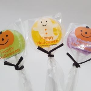 ハロウィン お菓子 配る 人気 プチギフト プレゼント ハロウィン ロリポップキャンディー|iwaiseika