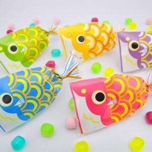 こどもの日お菓子☆プチ京鯉のぼり|iwaiseika