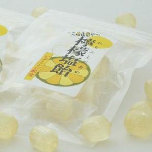 業務用 レモン塩飴(レモン塩あめ)『食べきりサイズ』便利なチャック付(20袋入り)【熱中症対策塩飴】|iwaiseika