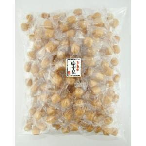 ゆず飴1kgパック 送料無料 お試しまとめ買いキャンディー|iwaiseika|02