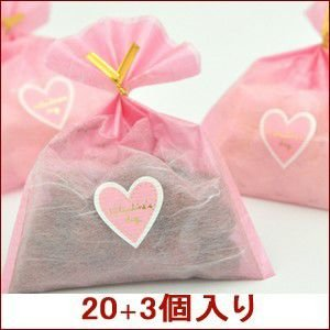 バレンタイン 義理チョコ キャンディ プチはぁーと プチギフト プレゼント 20個まとめ買いでプラス3個|iwaiseika