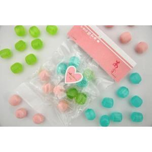 バレンタイン 義理 キャンディ 春色パステル 個包装 プチギフト プレゼント 100袋|iwaiseika|02