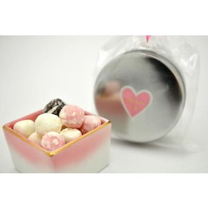 バレンタイン 義理チョコ 2020 お配り 義理 チョコ キャンディ 京ころも (ギフト 缶) プチギフト プレゼント|iwaiseika|02