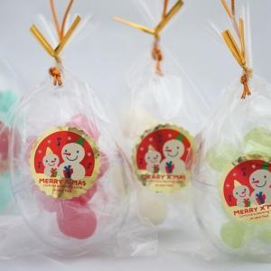 クリスマス 飾り オーナメント キャンディ お菓子 手作り 業務用 エッグ型 4ケース(120個入り)格安 iwaiseika