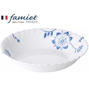 50%OFF メーカー公式 iwaki(イワキ) ファミエット Grande Fleur薄紺 深皿(小)|iwaki-kitchenshop-y