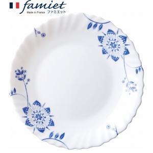 50%OFF メーカー公式 iwaki(イワキ) ファミエット Grande Fleur薄紺 小皿|iwaki-kitchenshop-y