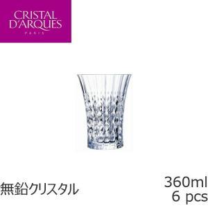 クリスタル・ダルク レディーダイヤモンド タンブラー 360ml 6個入り G5210-6P|iwaki-kitchenshop-y