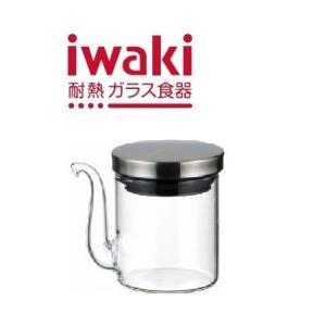 【ステンレスシリーズ】iwaki(イワキ) クラフトライン・醤油差し60ml|iwaki-kitchenshop-y
