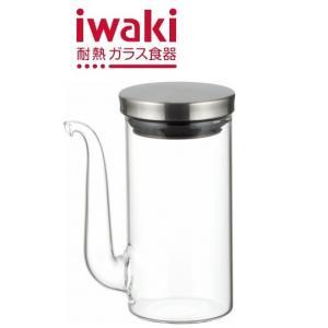 【ステンレスシリーズ】iwaki(イワキ) クラフトライン・醤油差し100ml|iwaki-kitchenshop-y