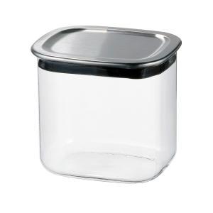 メーカー公式 新製品 iwakiスクエアパック 保存容器 保存 ステンレス K7796K-SV|iwaki-kitchenshop-y
