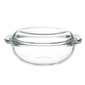 iwaki(イワキ) キャセロール 1.5L 耐熱ガラス ガラス 料理 下ごしらえ レンジ レンジ調理 オーブン 焼き皿 皿 ボウル 素敵 おしゃれ インスタ|iwaki-kitchenshop-y
