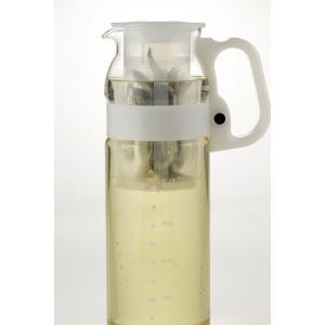 iwaki(イワキ) 茶こし付きハンディサーバー1.3L(ホワイト)|iwaki-kitchenshop-y