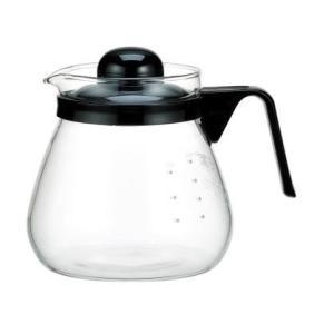 iwaki イワキ  レンジのポット・コーヒー1000 ブラック 1L 耐熱ガラス ガラス サーバー ポット 黒  iwaki-kitchenshop-y
