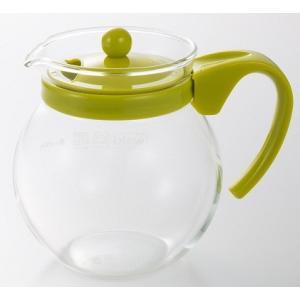 iwaki イワキ ジャンピングティーポット グリーン 耐熱ガラス 紅茶 ハーブ ハーブティー 丸型 おしゃれ 可愛い 映え iwaki-kitchenshop-y
