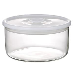 NEW 簡単密閉 iwaki(イワキ) 密閉パック&レンジ(ホワイト) 容量 350ml 耐熱ガラス ガラス 保存容器 白 常備菜 つくおき 作り置き T711MP-W iwaki-kitchenshop-y