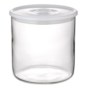 NEW 簡単密閉 iwaki(イワキ) 密閉パック&レンジ(ホワイト) 容量 950ml 耐熱ガラス ガラス 保存容器 白 常備菜 つくおき 作り置き T713MP-W iwaki-kitchenshop-y