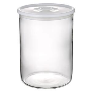 NEW 簡単密閉 iwaki(イワキ) 密閉パック&レンジ(ホワイト) 容量 1.4L 耐熱ガラス ガラス 保存容器 白 常備菜 つくおき 作り置き T714MP-W iwaki-kitchenshop-y