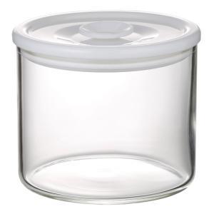 NEW 簡単密閉 iwaki(イワキ) 密閉パック&レンジ(ホワイト) 容量 350ml 耐熱ガラス ガラス 保存容器 白 常備菜 つくおき 作り置き T722MP-W iwaki-kitchenshop-y