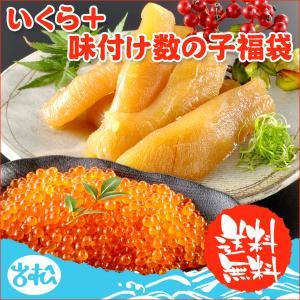 いくら 醤油漬け アラスカ 200g 塩 数の子 300g 送料無料 福袋ギフト★|iwamatsu-salmon