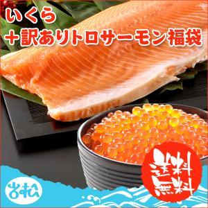 訳あり トロサーモン+イクラ アラスカ産  送料無料|iwamatsu-salmon