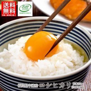 令和元年産  福島県 中通産 コシヒカリ 玄米 25kg  須賀川市産  JGAP 白米 米 こめ お米  25kg 米25kg|iwaseno-kinnsyuumai