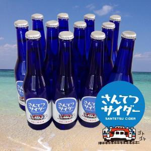 三陸鉄道 さんてつサイダー12本セット 送料無料・同梱不可 4796|iwatekensan-netshop
