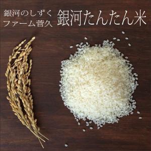 新米29年度産 銀河のしずく ファーム菅久の銀河たんたん米 乾式無洗米 2kg|iwatekensan-netshop
