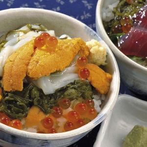 川秀ぶっかけ海鮮丼の具3種 マグロ・カニ・イカ 詰め合わせ |iwatekensan-netshop