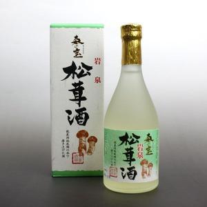 泉金酒造 森の宝 松茸酒|iwatekensan-netshop