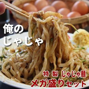 俺のじゃじゃ 特製じゃじゃ麺 6食入り メガ盛りセット|iwatekensan-netshop