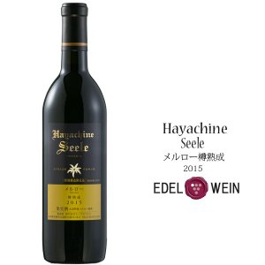 エーデルワイン ハヤチネゼーレ メルロー樽熟成2015 赤 辛口|iwatekensan-netshop