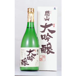 両磐酒造 関山 大吟醸 720ml 1310071|iwatekensan-netshop
