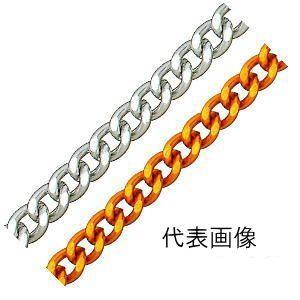ニッサチェイン ニッサ アルミニウム フリクション ショートマンテルチェーン 1.2mm×30m AS12F 金|iwauchi-kanamonoten