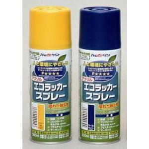 (送料無料)アトムハウスペイント エコラッカースプレー 300ml 24本販売(12本入×2箱) iwauchi-kanamonoten
