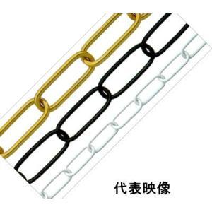ニッサチェイン ニッサ 鉄 ファインカラー リンクCタイプチェーン 1.6mm×15m IL16E 白|iwauchi-kanamonoten