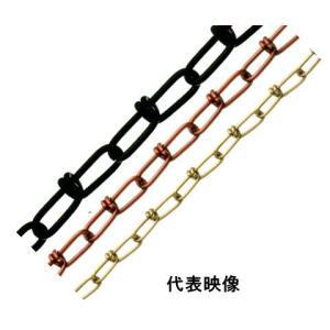 ニッサチェイン ニッサ 鉄 ファインカラー ビクターチェーン 1.6mm×15m IV16E 茶|iwauchi-kanamonoten